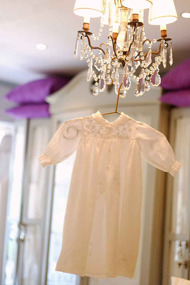 63cd2c1461 Angelic embroidered christening gown