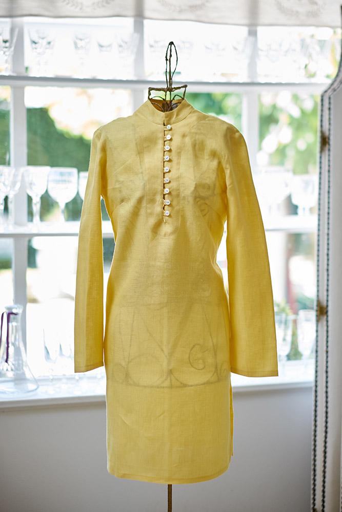 53857e4eec Enchanting dahlia jacket  Simple   elegant sunflower caftan
