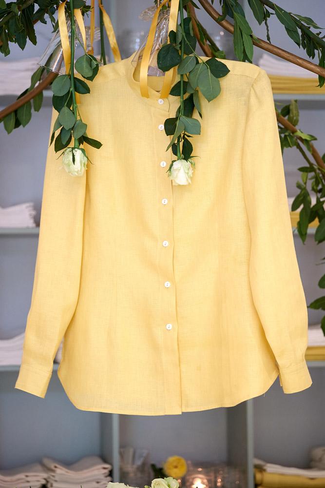 44cfdcb849 Attractive mandarine primose Shirt